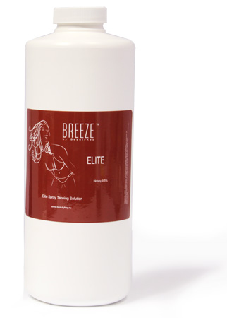 BREEZE Elite Honey 9,5% (1000мл.)  - Лосьон для моментального загара
